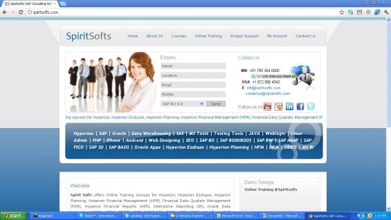 Sap bo online training | job support