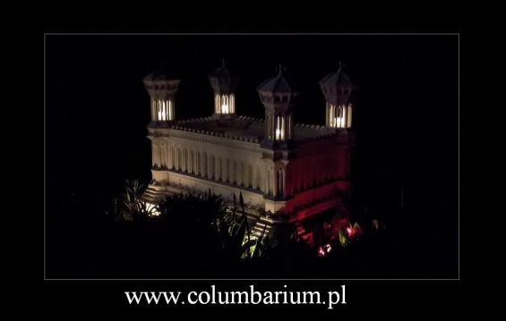 Ashes urns columbarium for 8 urns