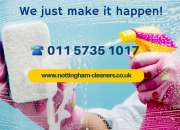 Reliable cleaners in Nottingham