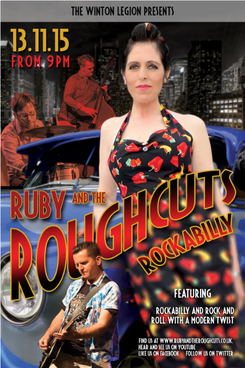 Rockabilly with ruby and the roughcuts.