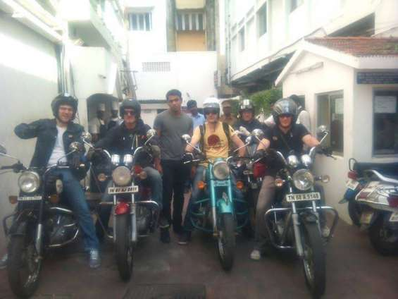 Sfa motorcycle rentals-rent harely,ducati,royal enfield in chennai