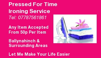 Fast & reliable ironing service