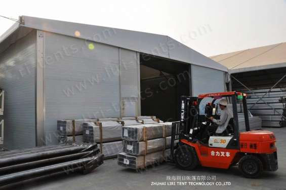 Pictures of Warehouse tent aluminum structure long life span building 3