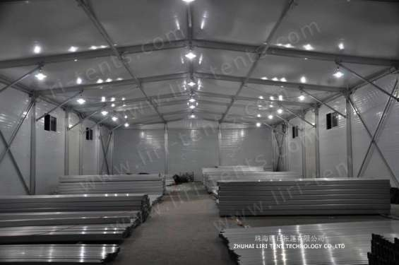 Pictures of Warehouse tent aluminum structure long life span building 8