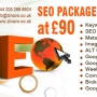 SEO Packages Starting at 90 US Dollar