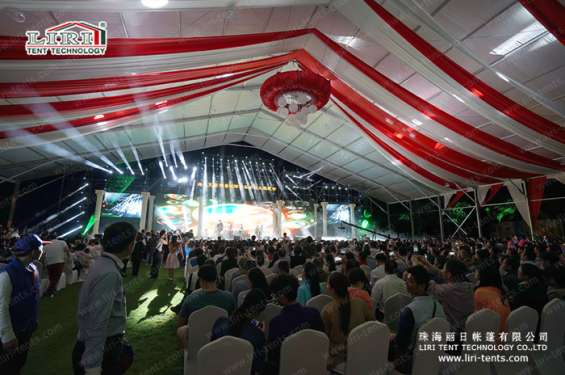 Pictures of Big outdoor waterproof clear span canopy event tent for parties 6