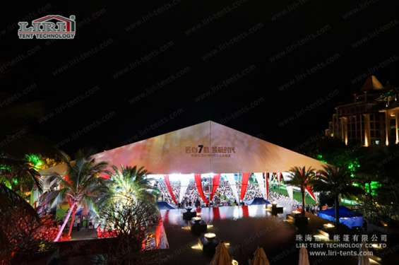 Big outdoor waterproof clear span canopy event tent for parties