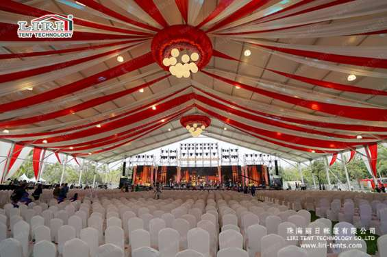 Pictures of Big outdoor waterproof clear span canopy event tent for parties 4