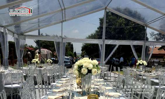 Pictures of Transparent austrialia luxury wedding tent 6