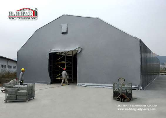 Pictures of Warehouse tent aluminum structure long life span building 6