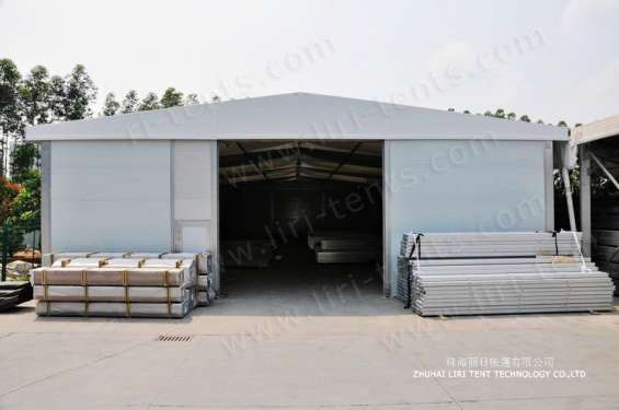 Pictures of Warehouse tent aluminum structure long life span building 2