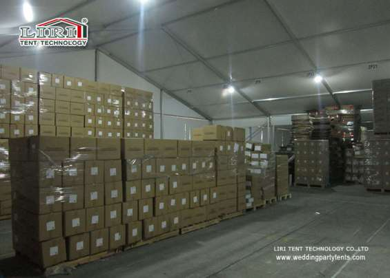 Pictures of Warehouse tent aluminum structure long life span building 5