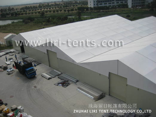 Pictures of Warehouse tent aluminum structure long life span building 4