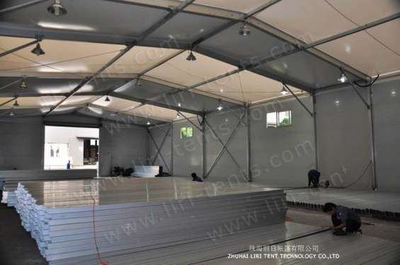 Pictures of Warehouse tent aluminum structure long life span building 7
