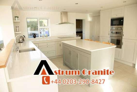 Quartz kitchen near you – renovate kitchen with quartz worktops at cheap price